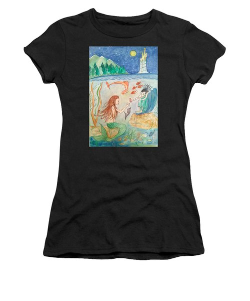 The Little Mermaid Women's T-Shirt (Athletic Fit)