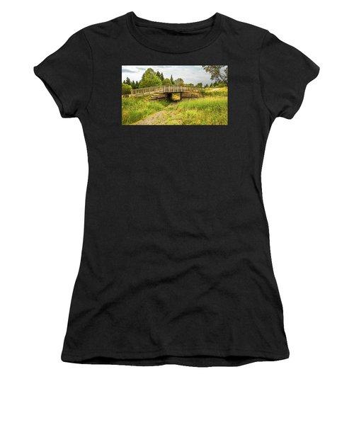 The Little Wooden Bridge Women's T-Shirt