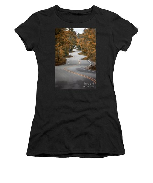 The Long Winding Road Women's T-Shirt