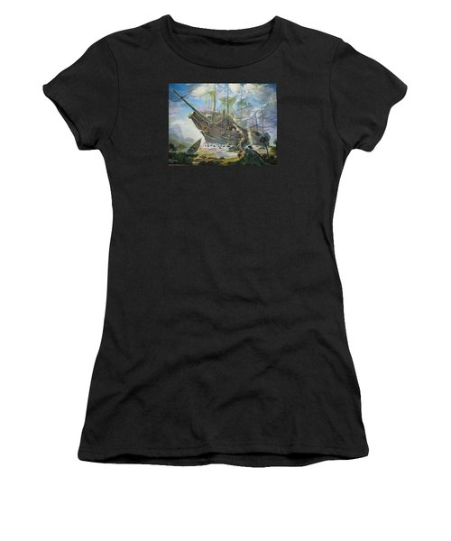 The Lost Ship Women's T-Shirt (Athletic Fit)