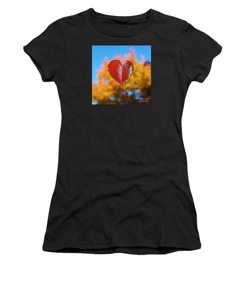 The Love Of Fall Women's T-Shirt (Athletic Fit)