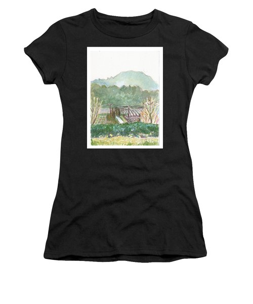 The Luberon Valley Women's T-Shirt (Athletic Fit)