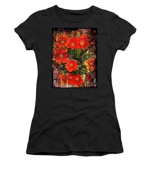 The Magical Flower Garden Women's T-Shirt (Athletic Fit)