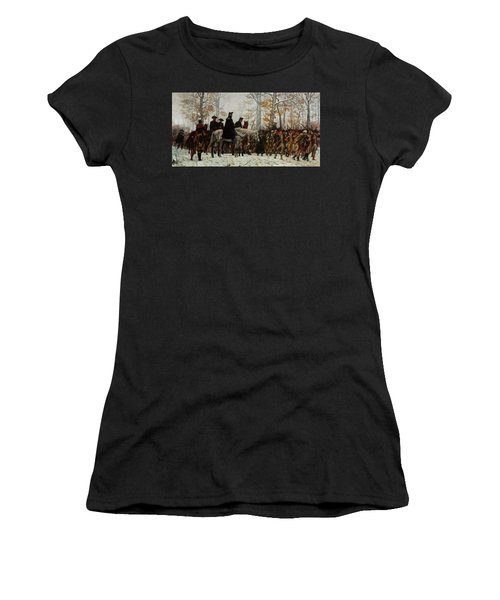 The March To Valley Forge, Dec 19, 1777 Women's T-Shirt