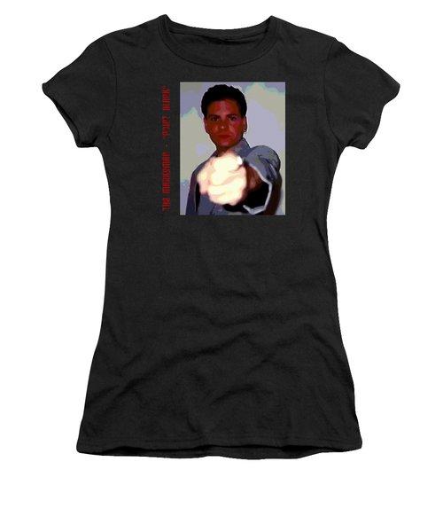 The Marksman - Point Blank Women's T-Shirt (Junior Cut) by Mark Baranowski