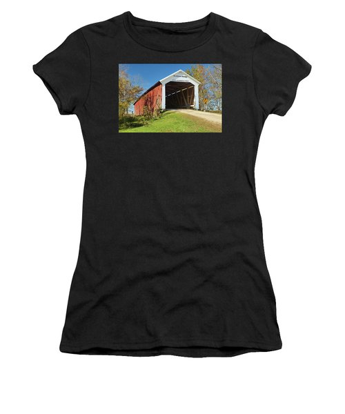 The Mcallister Covered Bridge Women's T-Shirt