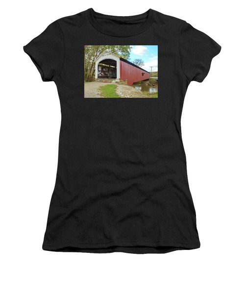 The Mecca Covered Bridge Women's T-Shirt (Athletic Fit)