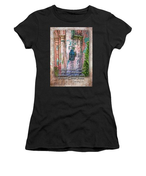 The Mediator Women's T-Shirt (Athletic Fit)