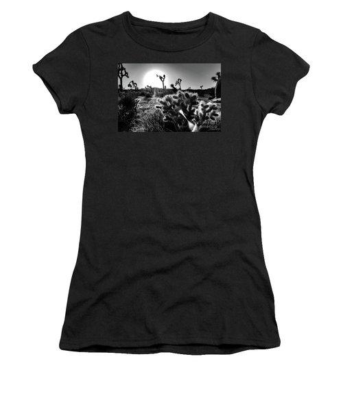 Merciless, Black And White Women's T-Shirt