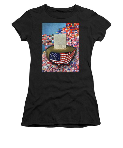 The Metling Pot Women's T-Shirt (Athletic Fit)