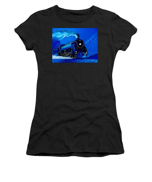 The Midnight Express Women's T-Shirt (Athletic Fit)