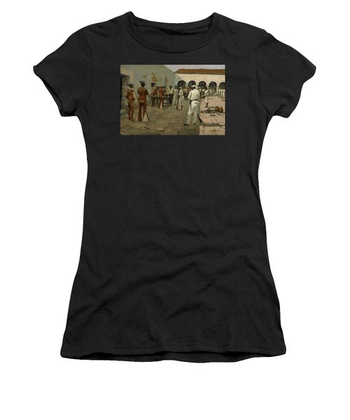 The Mier Expedition The Drawing Of The Black Bean  Women's T-Shirt