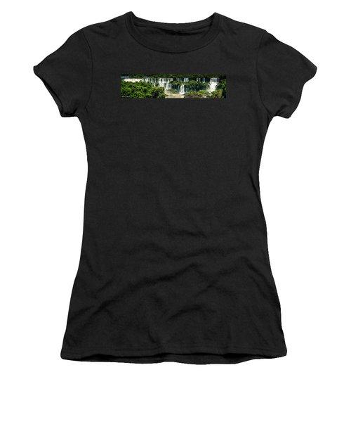 The Mighty Iguazu  Women's T-Shirt (Junior Cut) by Andrew Matwijec