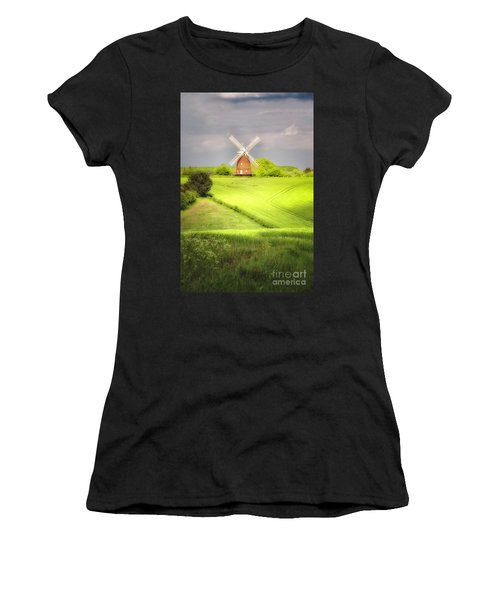 The Mill Uphill Women's T-Shirt (Athletic Fit)