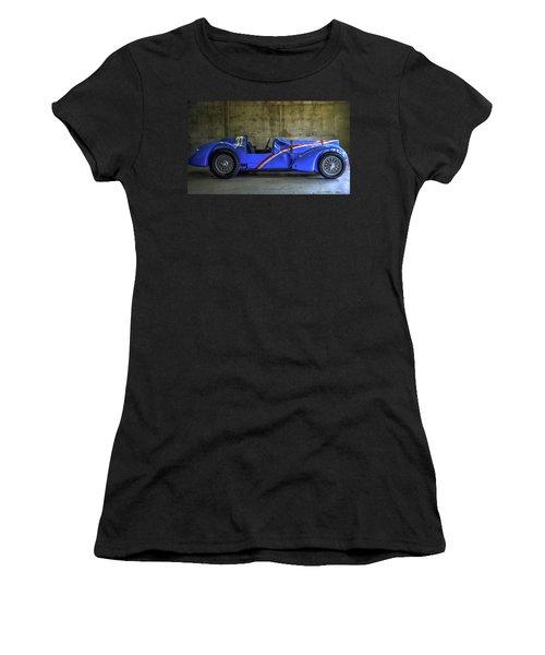 The Million Franc Car Women's T-Shirt (Athletic Fit)