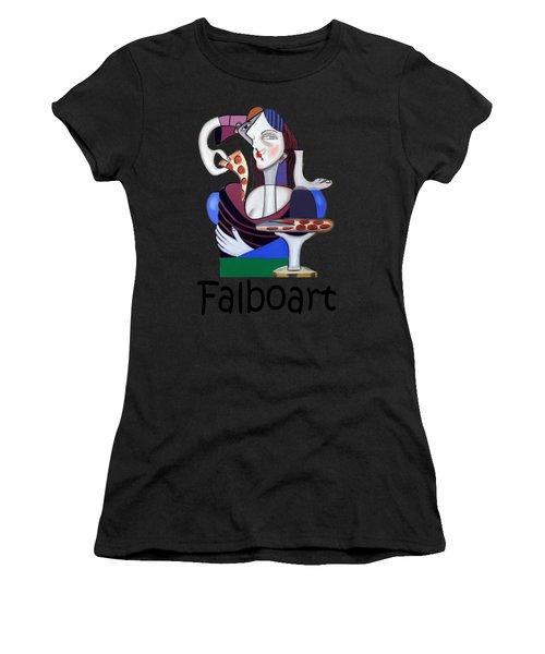 The Mona Pizza T-shirt Women's T-Shirt