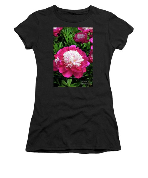 The Most Beautiful Peony Women's T-Shirt (Athletic Fit)
