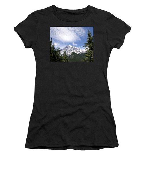 The Mountain  Mt Rainier  Washington Women's T-Shirt