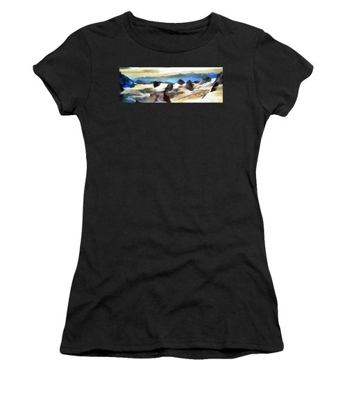 The Mountain Paint Women's T-Shirt (Athletic Fit)