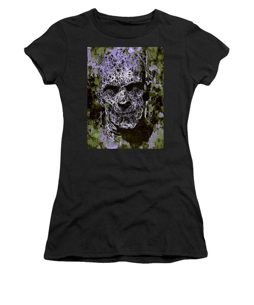 Women's T-Shirt featuring the mixed media The Mummy by Al Matra