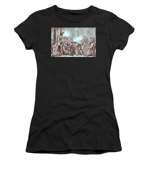 The Murder Of Julius Caesar Women's T-Shirt