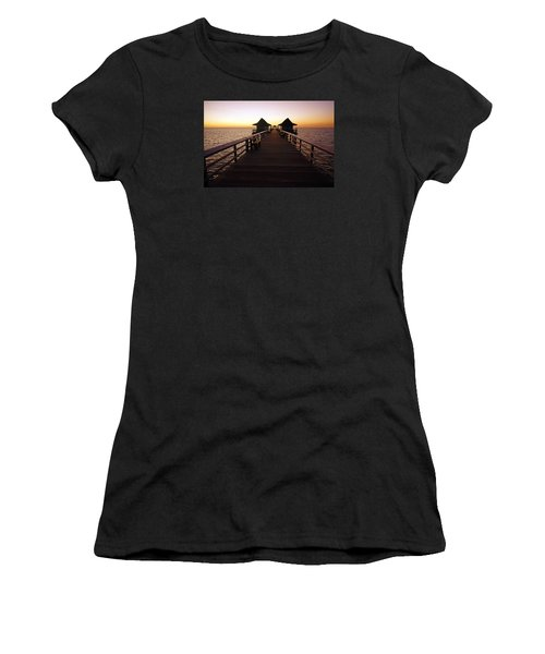 The Naples Pier At Twilight - 01 Women's T-Shirt