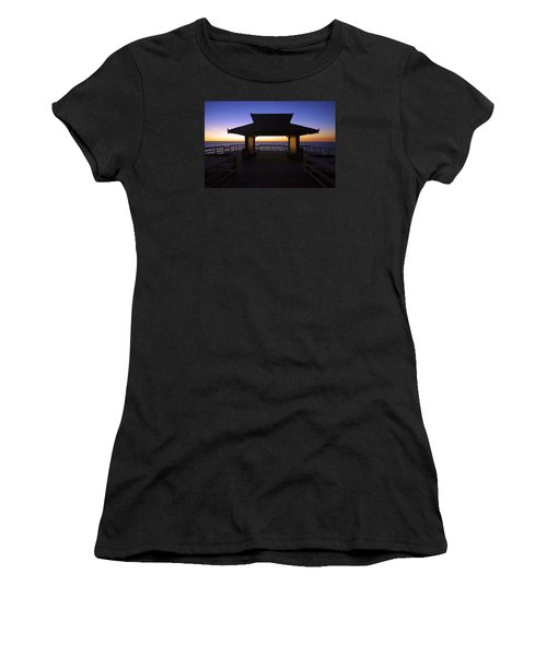 The Naples Pier At Twilight - 02 Women's T-Shirt