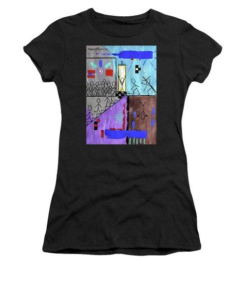 The Narrow Door Matthew 7-13-14 Women's T-Shirt