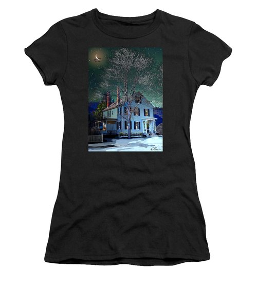 The Noble House Women's T-Shirt (Junior Cut) by Nancy Griswold