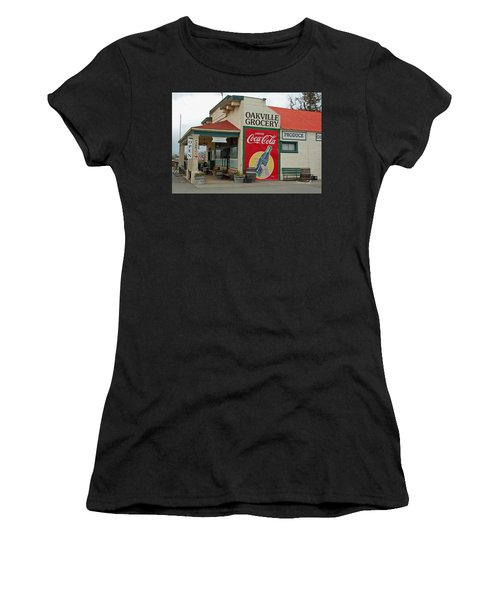 The Oakville Grocery Women's T-Shirt (Athletic Fit)
