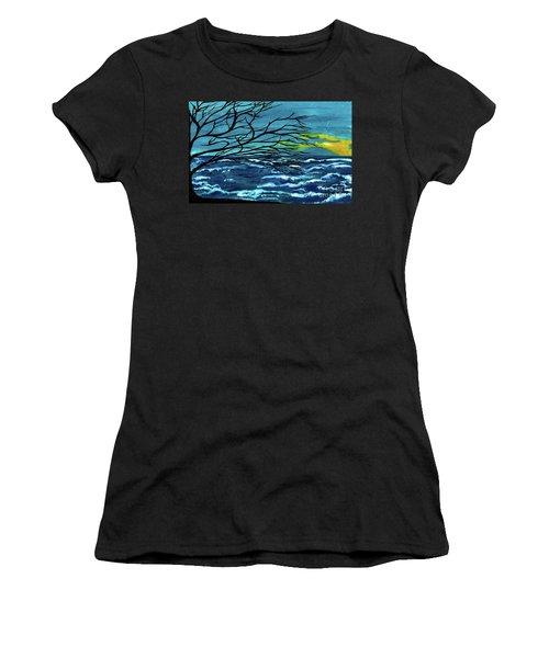The Ocean Women's T-Shirt (Athletic Fit)
