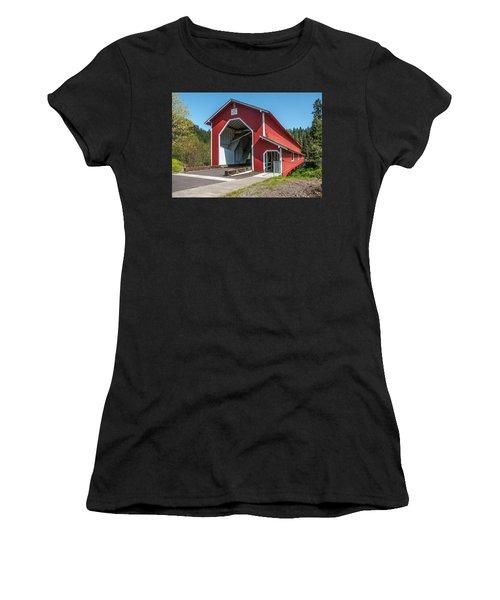 The Office Bridge Women's T-Shirt (Athletic Fit)