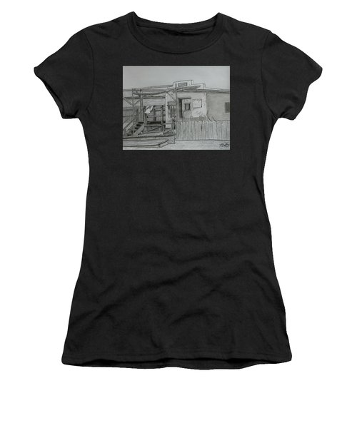 The Old  Jail  Women's T-Shirt (Athletic Fit)