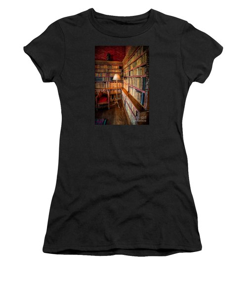 Women's T-Shirt featuring the photograph The Old Library by Adrian Evans
