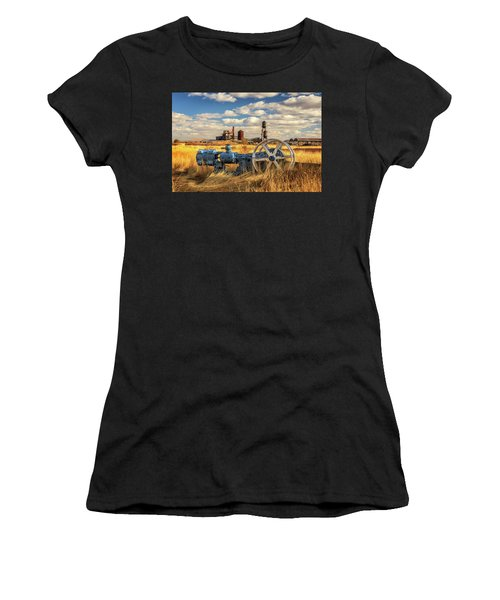 The Old Lumber Mill Women's T-Shirt (Athletic Fit)