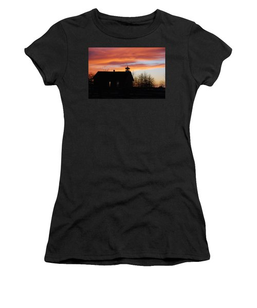The Old Schoolhouse Women's T-Shirt (Athletic Fit)
