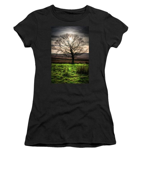 Women's T-Shirt (Athletic Fit) featuring the photograph The One Tree by Geoff Smith