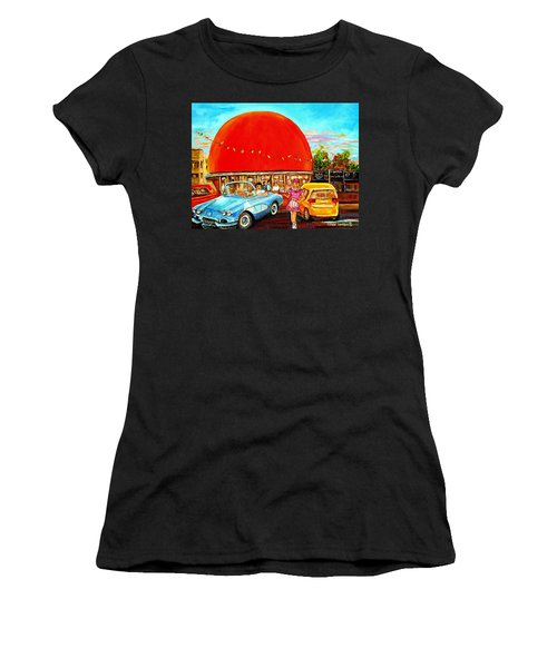 The Orange Julep Montreal Women's T-Shirt (Athletic Fit)