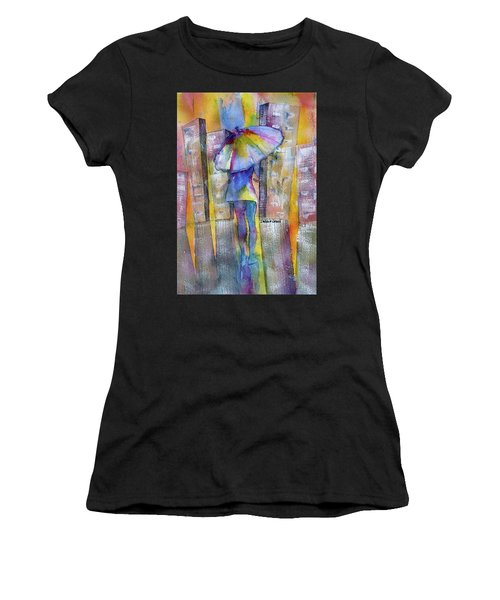 The Other Girl In The City Women's T-Shirt