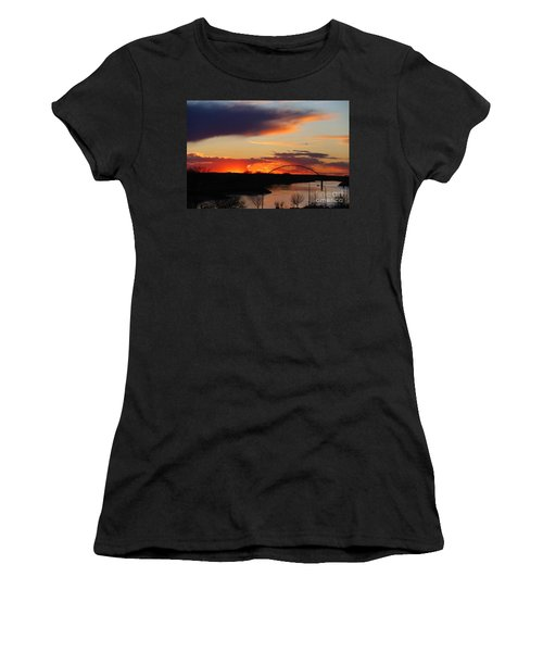 The Other Side Of The Bridge  Women's T-Shirt (Athletic Fit)