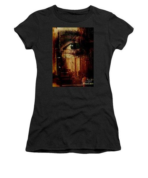 The Overseer Women's T-Shirt (Junior Cut) by Michael Cinnamond