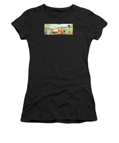 The Palace Garden Tea Party II Women's T-Shirt