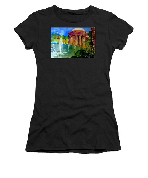 The Palace  In Miniature Women's T-Shirt (Athletic Fit)