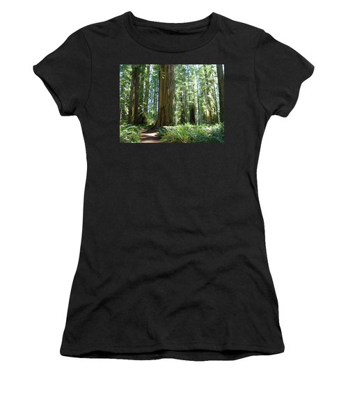 The Path, Redwoods For Gretchen Women's T-Shirt