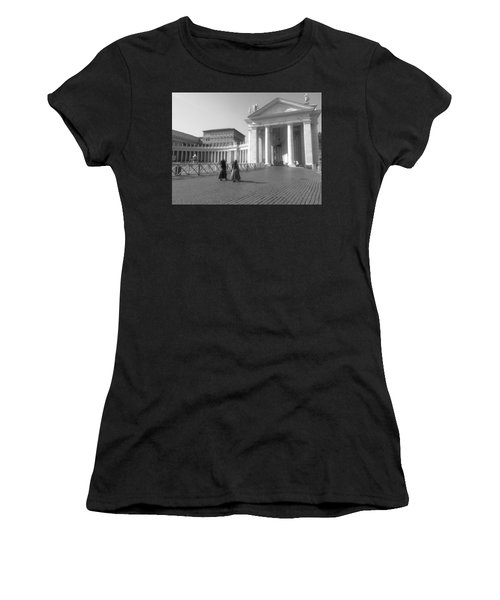 The Path To Temple Women's T-Shirt (Athletic Fit)