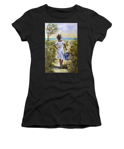 The Path To The Sea Women's T-Shirt (Athletic Fit)