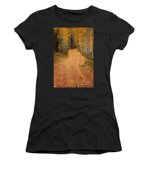 The Pathway To Fall Women's T-Shirt