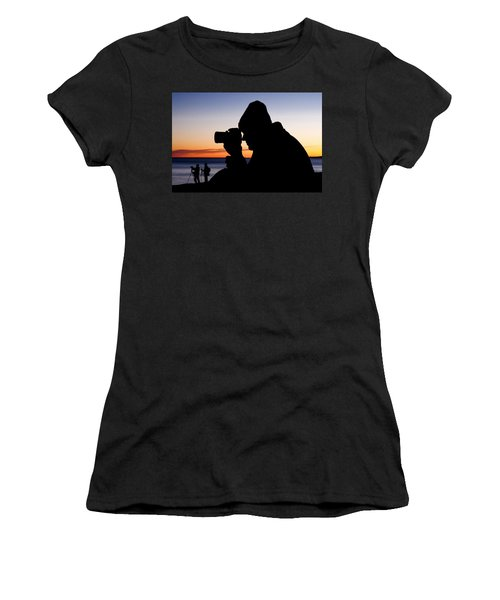 The Photographer Women's T-Shirt (Athletic Fit)