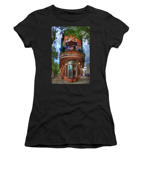 The Pickle Barrel Chattanooga Tn Art Women's T-Shirt (Athletic Fit)