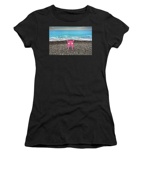 The Pink Chair Women's T-Shirt (Athletic Fit)